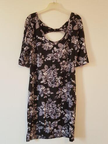 Ženska odeća | Gornji Milanovac: Haljina sa cvetovima jednom nosena, kupljena u nemackoj