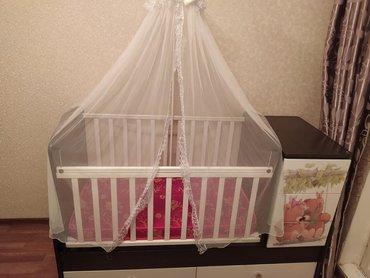 Детская мебель в Кыргызстан: Продаю срочнодетскую кроватку. Состояние отличное,новое