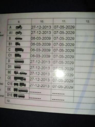 Работу кат в с д - Кыргызстан: Ищу роботу водителем кат в/с/д/е Подробнее по ватсап