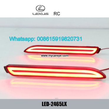 Lexus RC Car LED driving running Bumper Brake Lights lamps in Tīkapur