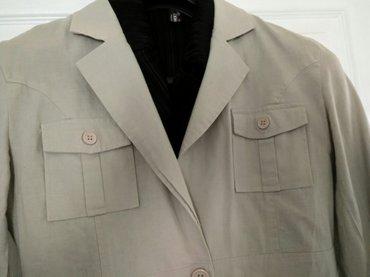 Sako / jaknica od lana free line ve. L u idlicnom stanju, zgodan za - Beograd