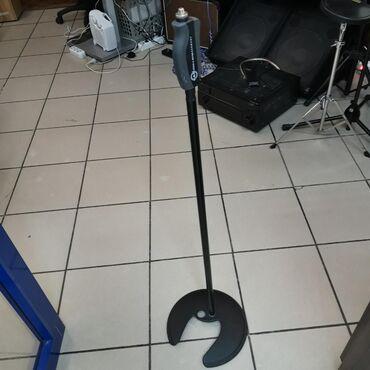 Стойки для музыкальных инструментов в Кыргызстан: Профессиональная напольная прямая стойка для микрофона от европейского