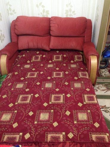 Диван+кровать, итальянская модель, в сложенном виде очень компакный в Бишкек