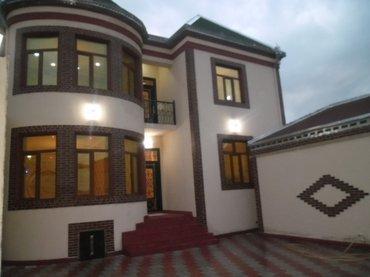 Bakı şəhərində Yeni temirden cixmiw 2 Mertebeli-6 otaqli ferdi yasayish evi