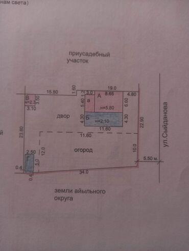 приюты для собак в Кыргызстан: Продается дом 203 кв. м, 4 комнаты, Без ремонта