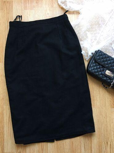 Svileni suknja - Srbija: Crna zift punija suknja sa svilenkastom postavom. Visoki struk Struk