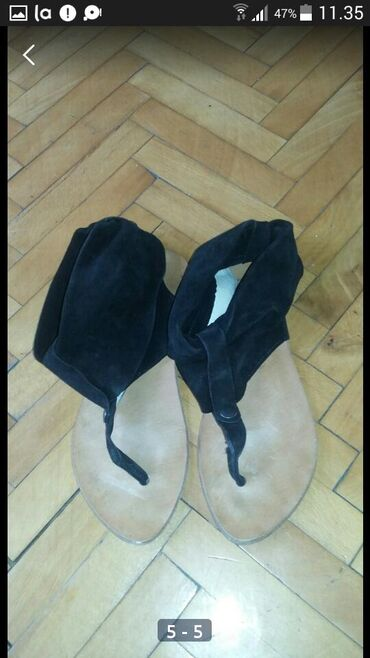 Braon kozne sandale broj pitajte - Srbija: Kao nove kozne italijanske sandale broj 41