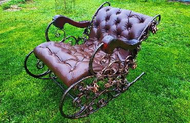 Кованая кресло качалка, ЭКСКЛЮЗИВЗакончена очередная работа, кованая