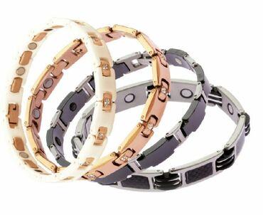 Бесплатная доставка по КР. Титановые магнитные браслеты