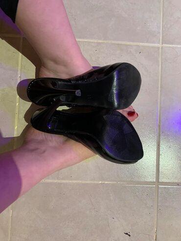 Πεδιλα peep toe δερματινης αρκετες φορες φορεμενα νο39