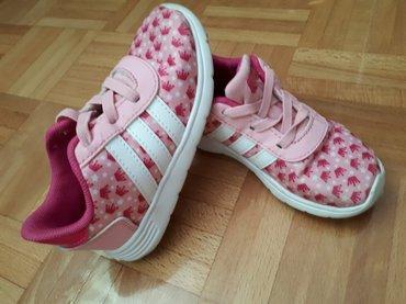 Adidas patike za devojcice, malo nosene, ocuvane, u odlicnom stanju. D - Sabac