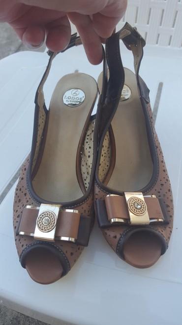 Sandale mozda nosene svega dva puta..br..36.. prelepe iz Turske.. malo - Paracin
