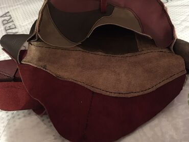 second hand obuv в Кыргызстан: Кожаная сумка ручная работа (hand made)