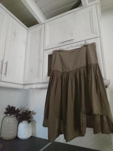 Size medium-large, ασύμμετρη επωνυμη φουστα σε Salamina