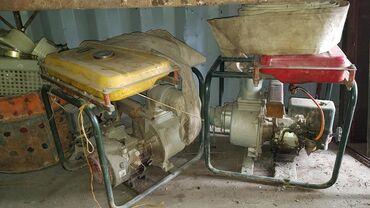Шланги и насосы в Кыргызстан: Продам 2 бензиновых насоса для полива, в комплекте шланги для закачки