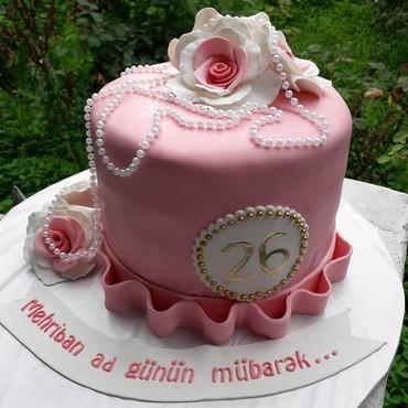 Şad günlerinizi dadı ve görnüşü ile seçiken tortlarla gözelleşdirmey
