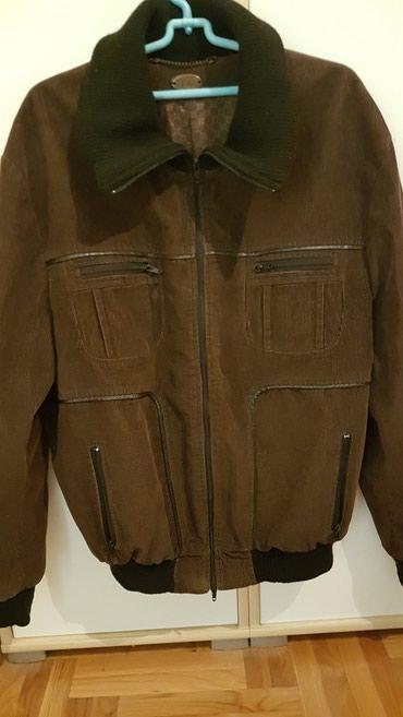 MONA muska jakna, somot, pamuk, velicina 54, obucena je svega dva puta - Sombor