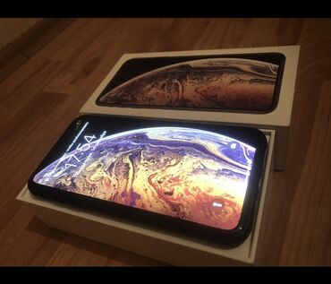 phone - Azərbaycan: İşlənmiş iPhone Xs Max 256 GB Qızılı