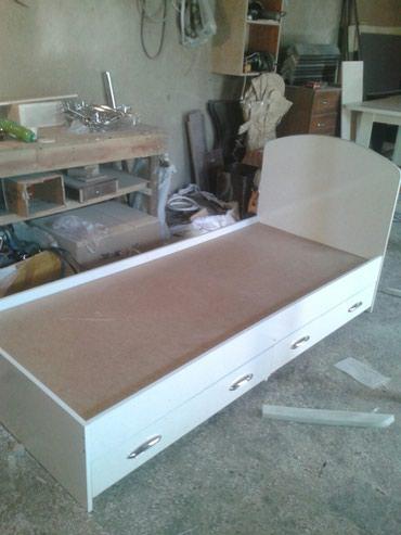 Односпальная кровать с матрасом 7000с доставка, установка бесплатно в Бишкек