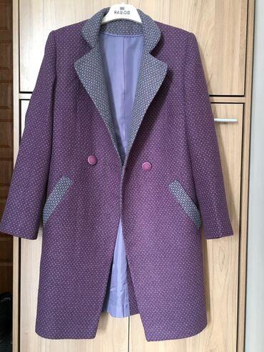 Пальто! Почти новое! Легкое! Хорошего качества, ткань хлопок с шерстью