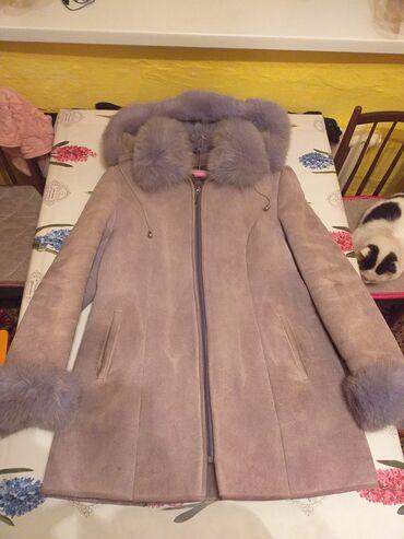 женское платье 52 в Кыргызстан: Дублёнка женская.Размер 52.Цена 1500 сомов