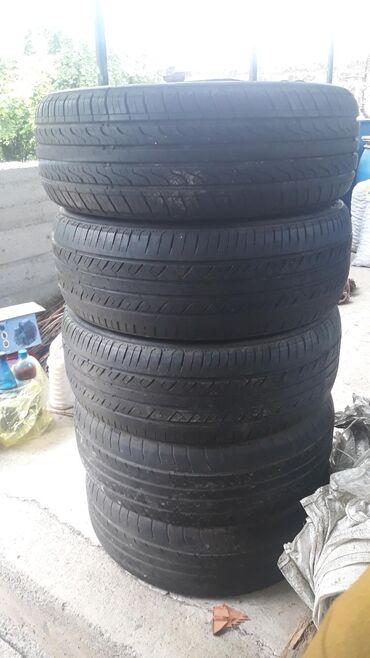 Nəqliyyat Şəkida: Mercedes-benz 4 göz tekerleri 5 eded 125