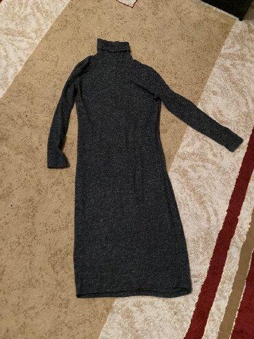 теплое платье большого размера в Кыргызстан: Платье. Тёплое. Размер М. Турция, busem