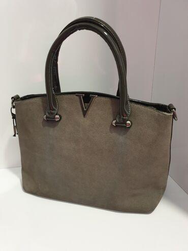 Torba dimenzije - Srbija: Kozna torba ima i duzi kaiš dimenzije 38cm duzina 20 cm visina, ima 3