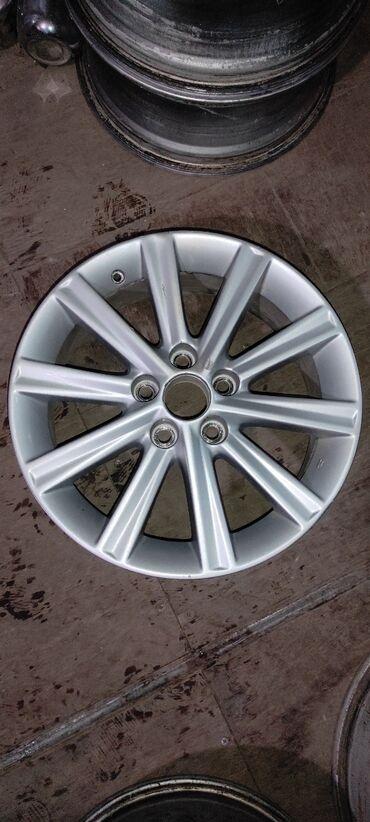 купить диски для машины в Кыргызстан: В продаже оригинальный диск ToyotaСверловка 5*114.3Ширина 7.0j et45На