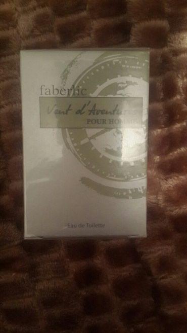 Bakı şəhərində 35 ml vent adventures kisiler ucun parfyum faberlikden.8m.