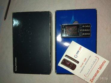 Bakı şəhərində Sony Erricson K810