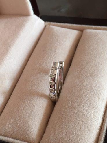 Серьги с бриллиантами, 585 проба, 4,44 гр, в Бишкек