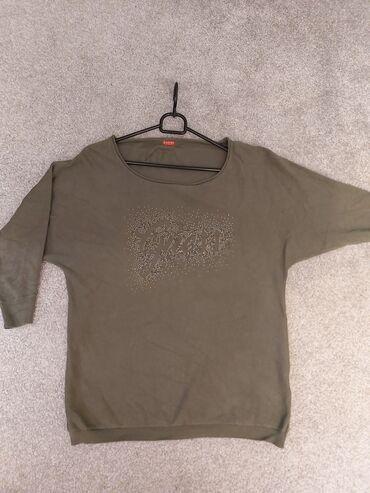 Original Guess majica -bluzica sa poludugim rukavima i sljokicavom