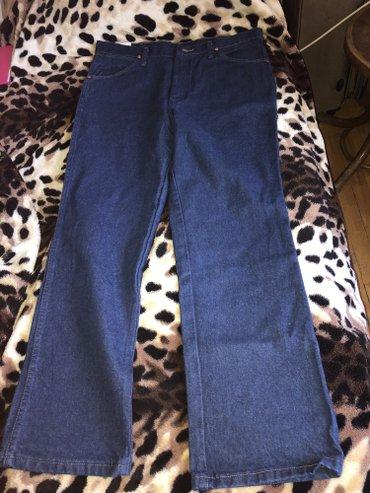 Zərdab şəhərində Jeans tezedir, kishi uchun, avropadan alinib, original wrangler