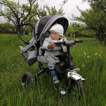 детский трехколесный в Кыргызстан: Продаю коляску велосипед, детский трехколесный велосипед, трансформер