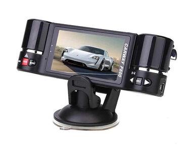 Videoregistrator F600 HD 2 Kameralı DVR avtomobillər üçün 2