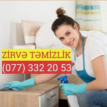 Təmizlik xidmətləri Azərbaycanda: Təmizlik | Ofislər, Mənzillər, Evlər, Kafe, mağazalar | Ümumi təmizlik
