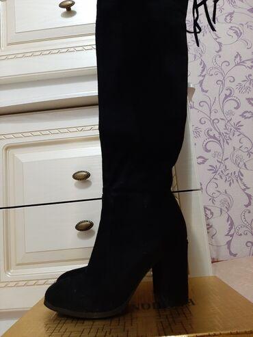 рио токмок квартиры in Кыргызстан | KIA: Чёрные ботфорты. Одевала только пару раз. Состояние новое