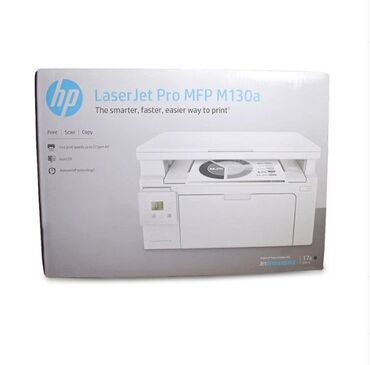 Printer Hp Laserjer Pro MFP M130a Say var. İşləməyinə katricindən