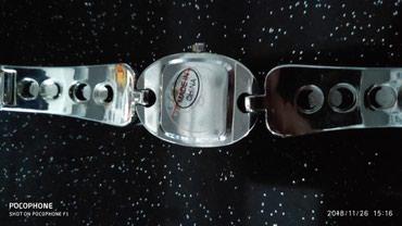 Bakı şəhərində Qadın Gümüşü Dəbli Qol saatı Lowell