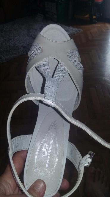 Sandale,jednom nosene,kao nove,br 39,veoma udobne - Vranje
