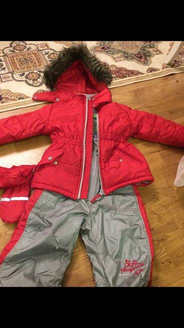 детский костюм для мальчика в Кыргызстан: Детский!!!! шикарный!!!! Брендовый лыжный костюм! новый!