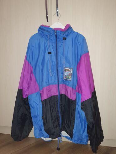 alfa romeo 90 в Кыргызстан: Ветровка, схожая на олимпийку из 90-х. размер огромный, xl. есть изъян