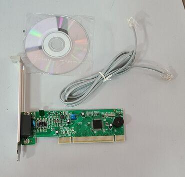Модем Intex FM281- универсальный внутреннийvoice/data/ Fax Modem