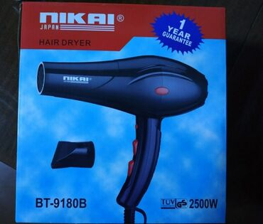 Фен от производителя Hikai 9180  2мя регулярные фены  Мощность 2500вт