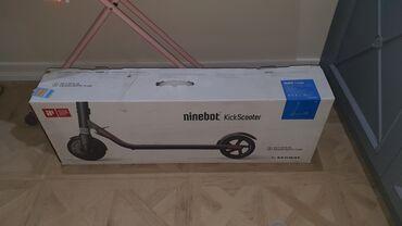 İdman və hobbi - Azərbaycan: Ninebot KickScooter ES1Выиграл с конкурса, не катался, сразу решил
