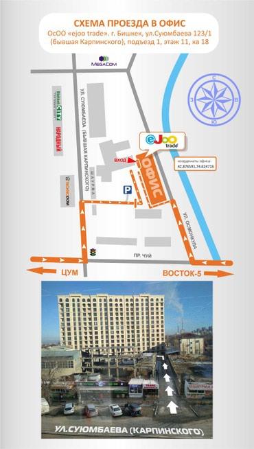 В динамично развивающую компанию в Бишкек