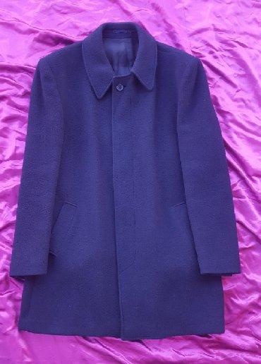 Muški kaput, vel. 56 teget boje. Proizvedeno u