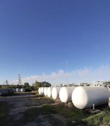 Бочка-для-молока - Кыргызстан: Газовые емкости, Газовые бочки 75 куб, наземные, а также компрессор и