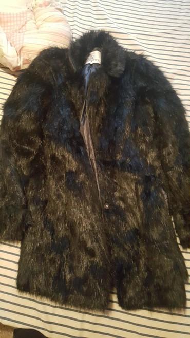 Μαύρη γούνα large. αφορετη.μηκος έως το γοφο σε Corfu